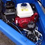 Kaapelivaunu-polttomoottorilla
